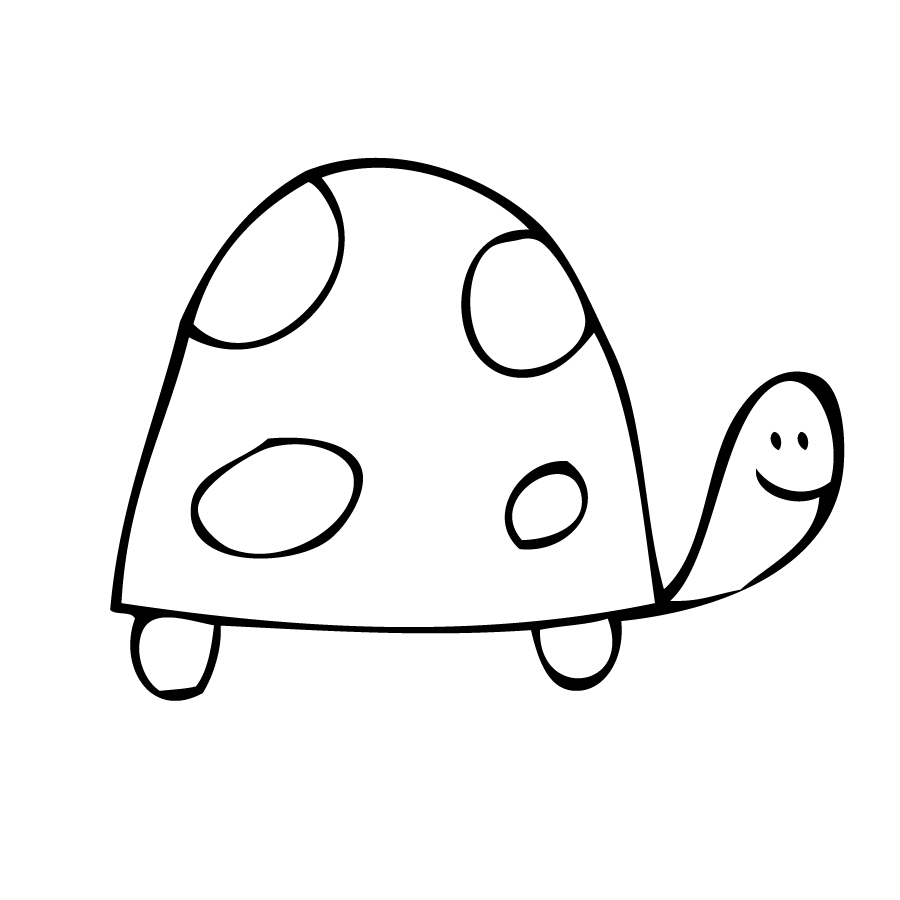 easy draw turtle - photo #15