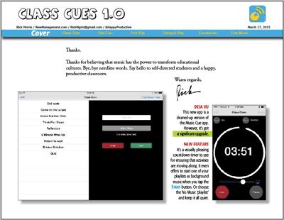 Class Cues App