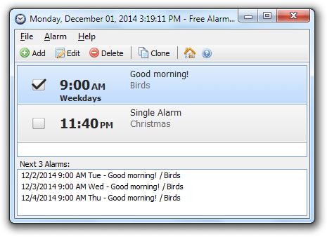 Classroom Alarm Clock PC